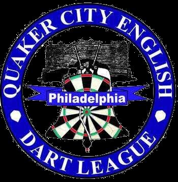 Quaker City English Dart League Logo